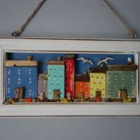 Street of Many Colours Framed Picture thumbnail