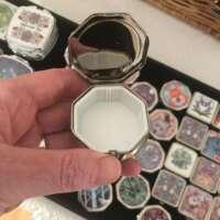 Celtic Lone Wolf Winter Pill Box thumbnail