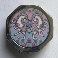 Celtic Unicorns Pill Box thumbnail