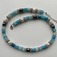 Turquoise Agate Necklace thumbnail