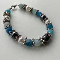 Turquoise Agate Bracelet thumbnail