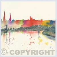 Pack of 5 Square Inverness Cards thumbnail