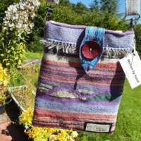 Hand Woven Hippy Shoulder Bag thumbnail