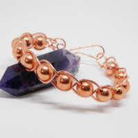Natural Copper Beaded Bracelet thumbnail