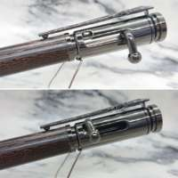 Wenge Wood Bolt Action Bullet Pen in a Replica Gun Case thumbnail