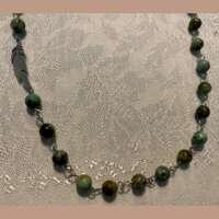 Asymmetric Feather Necklace thumbnail