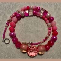 Shades of Pink Necklace thumbnail