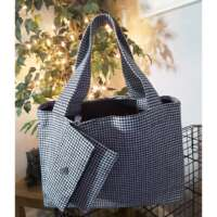 Dogtooth Check Handbag and Purse thumbnail