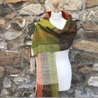 Orange and Green Large Wrap thumbnail