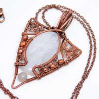 Rainbow Moonstone Necklace thumbnail
