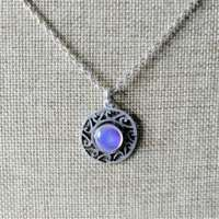 Celtic Design Pendant with Purple Detail thumbnail