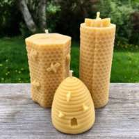 Celtic Beeswax Hexagon Bee Candle Collection thumbnail