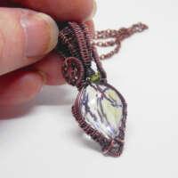 Faceted Rainbow Quartz Necklace thumbnail