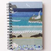 """""""Cottage by the Shore"""" Notebook thumbnail"""