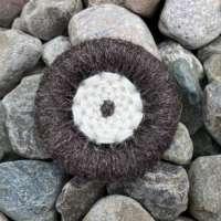 Dorset Button Brooch - Natural Stone thumbnail
