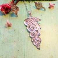 Art Nouveau Leaf Jewellery Set thumbnail
