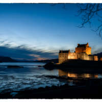 Eilean Donan Castle at Night thumbnail