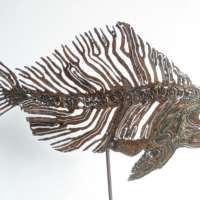 Fossil Fish Sculpture thumbnail