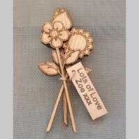 Wooden Oak Flowers thumbnail