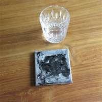 Grey Black Mix Coaster Set of 4 thumbnail