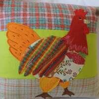 Decorative Chicken Cushion thumbnail