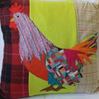 Decorative Rooster Cushion thumbnail