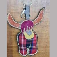 Highland Animal Keyrings thumbnail