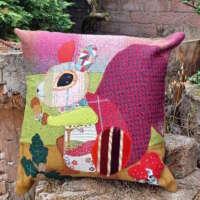 Decorative Squirrel Cushion thumbnail