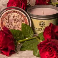 Highland Rose Tin Candle thumbnail