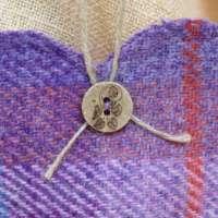 Harris Tweed Purple Heart Decoration thumbnail