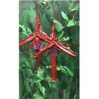 Double Fuchsia Painting thumbnail