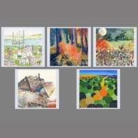 Pack of 5 Square 'Something Different' Cards thumbnail