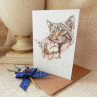 'Wild at Heart' Greeting Card thumbnail