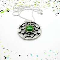 Green Celtic Open Design Pendant thumbnail