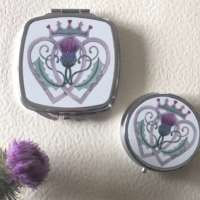 Luckenbooth Compact Mirror and Pillbox Set thumbnail