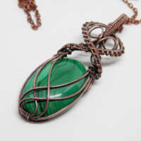 Malachite Necklace thumbnail
