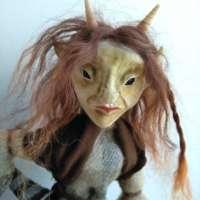 Red Haired Horned Skye Imp thumbnail