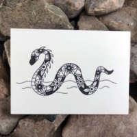 Nessie Mandala Card thumbnail