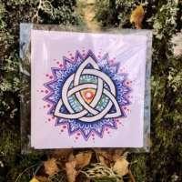 Trinity Knot Mandala (Colour) thumbnail