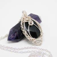 Black Onyx Necklace thumbnail