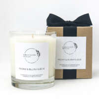 Peony and Blush Suede Candle thumbnail