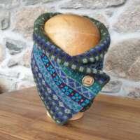 Peerie Pine Green Neckwarmer thumbnail