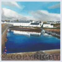 Pack of 5 Square Scenes of Scotland Cards thumbnail