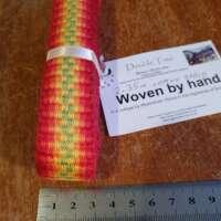 Handwoven Red Cotton Braid thumbnail