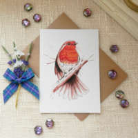 Regal Robin' Greeting Card thumbnail