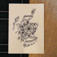 Scotland Mandala Card thumbnail