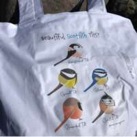 Scottish Tits Tote Bag thumbnail