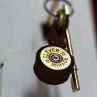 Shotgun Cartridge Key Ring thumbnail