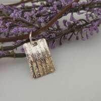 Handcrafted Silver Woodland Pendant thumbnail