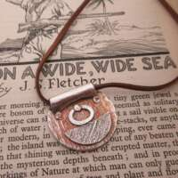 Handcrafted Silver Nautical Pendant thumbnail